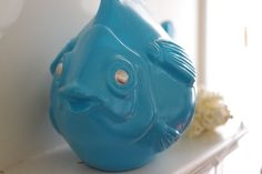 Hey, I found this really awesome Etsy listing at https://www.etsy.com/listing/89567769/fish-decor-coastal-art-turquoise-blue