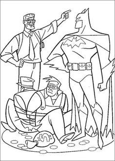 Batman 35 Ausmalbilder