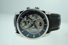 Parmigiani Fleurier Tonda Hemispheres Stainless Steel Watch PFC231
