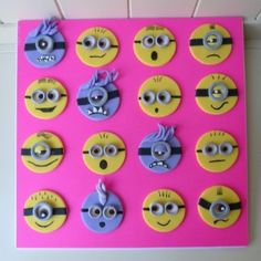 How to Make Despicable Me Cupcake Toppers