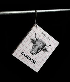 Carcasse - The Butcher's Kitchen on Behance Logo Design, Brand Identity Design, Branding, Behance, Meat Lovers, Ber, Illustrations, Portfolio Design, Logos