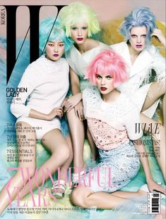 w korea march 2012 seven covers for 7th anniversary
