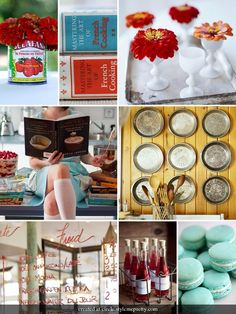 Marry You Me: Inspiration Board - Vintage Cooking Bridal Shower