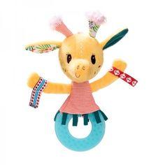 Lilliputiens Zia Giraffe Rassel / Beissring - auf Rechnung bestellen, Bonuspunkte sammeln, DHL Blitzlieferung!