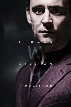 Thomas William Hiddleston. Click through for bonus picture.