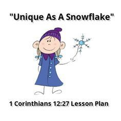 This simple Bible lesson is perfect for those Sundays when you have snow on the ground. It could be used in Sunday School or Kids church. Some families could use it as an outline for a family devot...