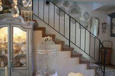 Idee per decorare scale Shabby Chic n.04