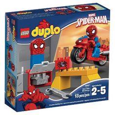 LEGO® DUPLO®  Super Heroes Spider-Man Web-Bike Workshop 10607