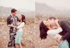 9 Creative Engagement Photo Props | Photo by: Simply Bloom Photography | TheKnot.com