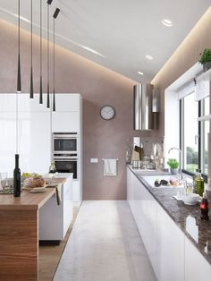 Open Kitchen Design (Cozy and Classic Open Kitchen) – Indian Living Rooms Kitchen Design Open, Small Space Kitchen, Best Kitchen Designs, Open Concept Kitchen, Kitchen Ideas, Small Spaces, Kitchen Floor Plans, Kitchen Flooring, Kitchen Cabinets