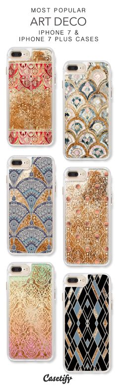 Most Popular Art Deco iPhone 7 Cases & iPhone 7 Plus Cases. More liquid glitter iPhone case here > https://www.casetify.com/en_US/collections/iphone-7-glitter-cases#/?vc=TYepC8vP8s
