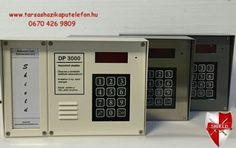 DP3000 digitális kaputelefon kártyás és kódos beléptetővel