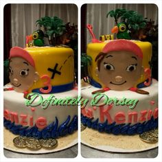 Jake and the Never Land Pirates Cake #TeamDorsey# made by Sonya Dorsey