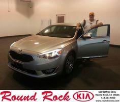 #HappyBirthday to Lawrence Tinsley from Rudy Armendariz at Round Rock Kia!