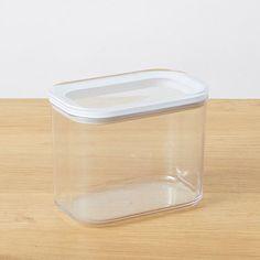 Modular Kitchen Storage Rectangle Canister 1000ML | Target Australia Kitchen Storage Containers, Storage Canisters, Kitchen Drawers, Kitchen Canisters, Kmart Home, Pantry Organisation, Organization, Target, Glass