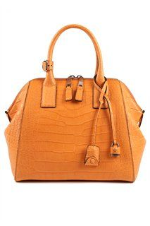 Large Alligator Incognito in Tangerine by Marc Jacobs