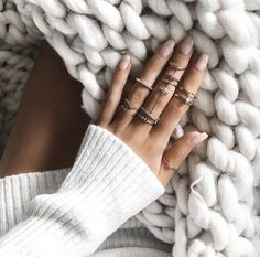 Most girls pin for the nails. I pin for the knitting.