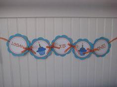 Baby's First Birthday Banner
