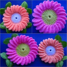 Flowers are most favorite of crochet collection. Always are very need to blanket, dress, pillows, sweaters etc. Those are so fantastic and have to be keep. Anytime you need some special to decorate your crochet