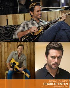 Nashville Hottie: Charles Esten as Deacon Claybourne  #hottie #eyecandy #nashville