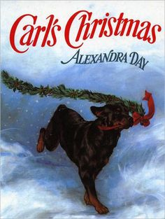 Book & Activity Advent Day 20:  read Carl's Christmas and make fancy felt dog collars