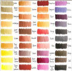 nuancier couleur d mail - Crazy Color Nuancier