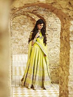 Light Green Bridal lehenga and saree | Light Green Theme and Decor | Wed Me Good