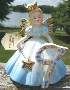 Check out VINTAGE JOSEF ORIGINAL 9TH YEAR BIRTHDAY ANGEL and TAGS  http://www.ebay.com/itm/VINTAGE-JOSEF-ORIGINAL-9TH-YEAR-BIRTHDAY-ANGEL-and-TAGS-/370255662471?roken=cUgayN via @eBay
