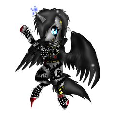 Black Veil Brides My Little Pony by XxsilvixX on deviantART