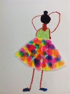 Artsonia Art Gallery - 1st Grade Edgar Degas Ballerinas