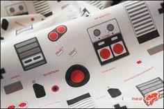 8bit Memories – Tecidos com estampas legais que remetem ao Nintendinho 8-Bits