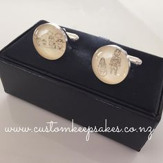 Don't let their precious pictures go to waste.  Order these sterling silver and glasslike resin cufflinks with your choice of image via the link in my bio email a scanned image and let me do the rest #customkeepsakesnz #creatingpreciousmemories #madeinnz #nzmade #nzjewellery #thehivenz #bizzy_shopping_nz #nnzmo #giftsforhim #kidsart #nzcustomcufflinks