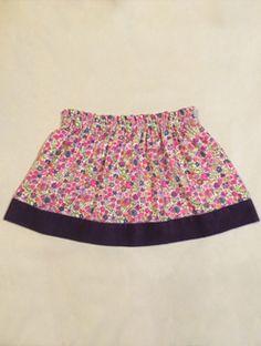 Liberty Sunshine Mini Skirt