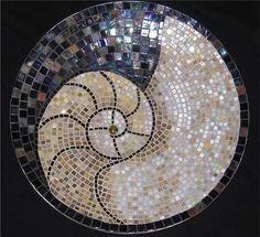 This would make a beautiful table top do pool or patio.  Mosaic Craft Ideas | craft home decor: mosaic ideas - crafts ideas - crafts for kids