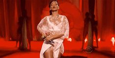 Rihanna's First Time At The Victoria's Secret Fashion Show Was Perfect And These GIFs Prove It