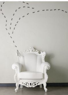 shabby Louis chair