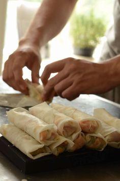 Tapas Recipes, Vegan Recipes, Vegan Food, Food N, Food And Drink, Cooking Cookies, Spring Rolls, What To Cook, Soul Food