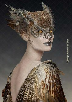 Limited Edition Prints Maxine Gadd is a published artist Bird-Sprite