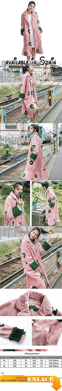 B0778LGL36 : Las mujeres de invierno franela Sexy camisón manga larga ropa de dormir suave Loungewear rosa  pink  l. Nuestro tamaño es diferente del tamaño del Reino Unido y la tabla de tamaño de Amazon elija el tamaño correcto con nuestra información detallada del tamaño en la imagen asegúrese de que los detalles le sientan bien;. El precioso camisón tiene un tacto muy suave y es ideal para descansar en la casa;. Característica: el diseño de la manga de doblez