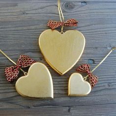50% Sale ENDS SOON! Traditional Heart Handmade Wooden Decoration.  All products in Golden Edition are made of high quality Mountain Maple Wood. Radiant hand Gilded decorations are complemented with clear crystals and stunning ribbons in red and gold shades. The whole process is Hand made, including magical branded gift wrapping from Choralis Art.  #goldheart#goldenheart#walldecor# Golden Heart, Heart Of Gold, Heart Wall, Wooden Decor, Handmade Wooden, Luxury Gifts, Clear Crystal, Wood Art, Wall Decor