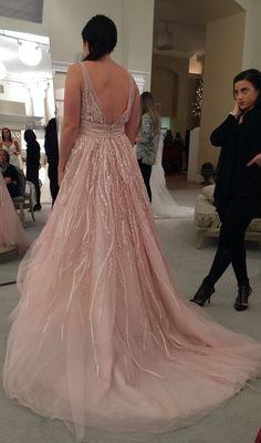 Watters 'Soledad' - Watters - Nearly Newlywed Bridal Boutique - 1 Size 12 Wedding Dress, Pink Wedding Dresses, Designer Wedding Dresses, Wedding Gowns, Wedding Bells, Pink Weddings, Pink Champagne Wedding, Sincerity Bridal, Allure Bridal