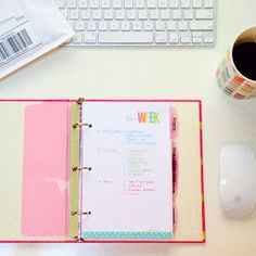 Blog Planner | Filofax Friday with I Love It All -Free to do printables
