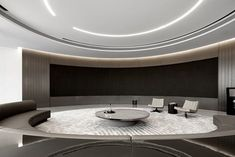 DOTHINK • AIRPORT CITY SALES CENTER | GFD Interior Designs Lobby Interior, Interior Design, White Reception Desk, Mirror Ceiling, Aesthetic Space, Sales Center, Rest Area, Sales Office, Home Cinemas