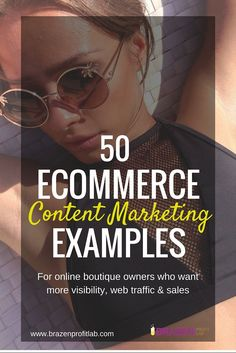 The secret to creating an authority ecommerce business is to think like a blogger. Once you see these 50 eCommerce Content Marketing Examples, I think you'll understand what i mean.
