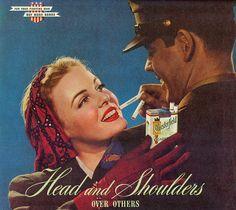 1944  Chesterfield cigarettes