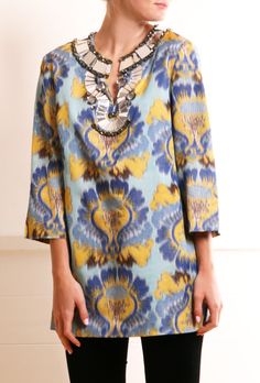 TORY BURCH TUNIC @Michelle Flynn Coleman-HERS