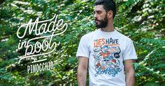 Ohmyboot Clothing - Lookbook 2015 - Pinocchio Tshirt