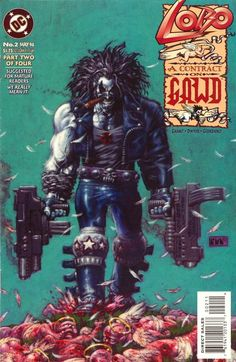 """Lobo: A Contract on Gawd (1994) - #2 """"The Temptations of St. Lobo"""""""