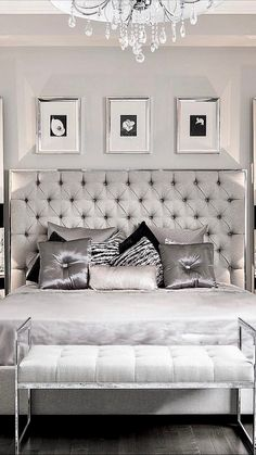 Modern Master Bedroom Ideas Decor and more. Bedroom Sets, Home Bedroom, Master Bedroom Design, Bedroom Designs, Bedroom Decor For Teen Girls, Luxurious Bedrooms, My New Room, Beautiful Bedrooms, Home Decor Inspiration