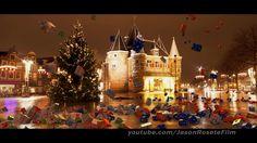 Falling Christmas presents in Amsterdam, Netherlands. http://www.jasonrosetefilm.com/christmas-gift-around-the-world